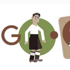 Football: Frank Soo, first and only player of Asian origin to represent England honoured by Google