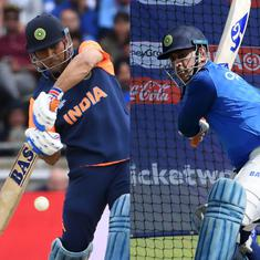 Remember MS Dhoni using bats with different stickers during 2019 World Cup? Here's why