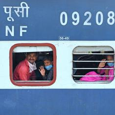Train ferrying migrants from Mumbai to UP reaches Odisha, Railways says planned diversion