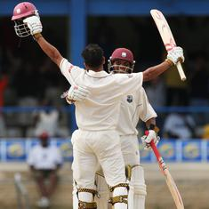 Watch: Chanderpaul, Sarwan help West Indies complete record chase of 418 to beat Australia in 2003