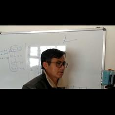 Watch: Maths teacher Kifayat Hussain from Leh converts his Covid-19 isolation ward into a classroom