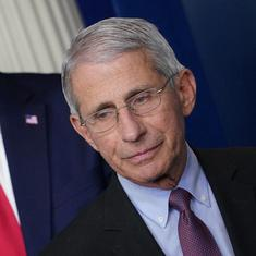 Donald Trump says people are tired of listening to Covid expert 'Fauci and all these idiots'