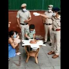 Watch: Rajya Sabha member Mary Kom's son gets special birthday greetings from Delhi Police