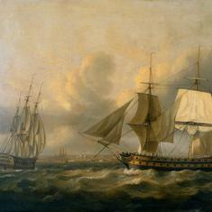 The mystery of an East India Company ship that was in two places at the same time