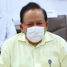 Coronavirus will be under control by Diwali, claims Health Minister Dr Harsh Vardhan