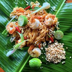 Thai Southwest Coast Prawn Phad Thai