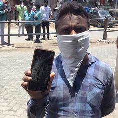 A day after a lathicharge at Mumbai railway station, shattered phones and broken dreams of home