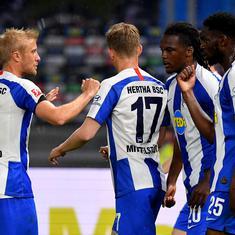 Bundesliga: Vedad Ibsevic, Dedryck Boyata score to help Hertha blank Union 4-0 in Berlin derby