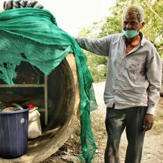 On Yamuna's dirty banks, brotherhood of the dispossessed gathers in the only place they know as home