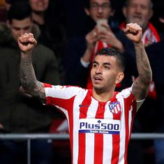 The lockdown was difficult but we're moving forward: Atletico winger Correa keen on La Liga restart