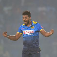 Shehan Madushanka set to be suspended by Sri Lanka Cricket after being arrested for carrying drugs
