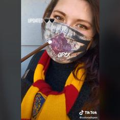 Watch: Harry Potter-themed face mask shows the 'Marauder's Map' when you breathe through it