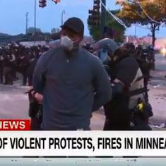 Watch CNN news team being arrested while live on air in Minneapolis