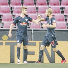 Bundesliga: Timo Werner on the scoresheet as RB Leipzig move up to third place with win over FC Koln