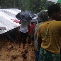 असम : भूस्खलन की अलग-अलग घटनाओं में 20 लोगों की मौत