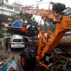 मुंबई में आते ही तूफान निसर्ग कमजोर पड़ा, शहर से बड़ा खतरा टला