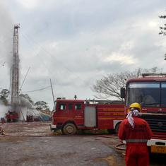 Assam: Oil India says well still leaking gas 'uncontrollably', over a week after major blowout