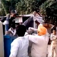 Coronavirus: Body of man who died outside UP government office dumped in garbage van, 7 suspended