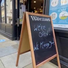 Watch: Shops for non-essential products in England open their doors after 83 days