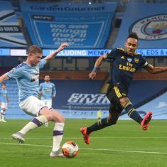 Premier League: David Luiz errs, Kevin De Bruyne shines as Manchester City cruise past Arsenal