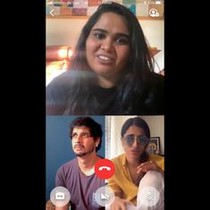 Watch comedian Sumukhi Suresh chat on lockdown dating with Tahir Raj Bhasin and Aisha Ahmed