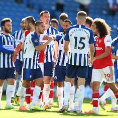 Arsenal players should learn humility, they got what they deserved: Brighton's Neal Maupay