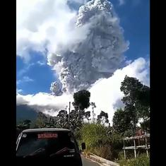Watch: Indonesia's most volatile volcano erupts, spewing gas and ash up to 6 km into the sky