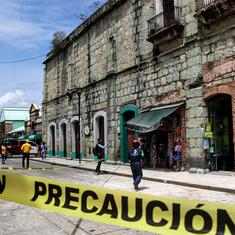 Six killed as 7.4-magnitude earthquake strikes southern Mexico; tsunami alert issued