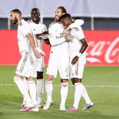 La Liga: Sergio Ramos, Vinicius Junior star as Real Madrid beat Mallorca and return to the top