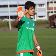 Pause, rewind, play: Gurpreet Singh's Europa League debut – a proud moment for Indian football