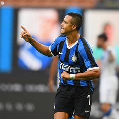 Serie A: Alexis Sanchez stars as Inter Milan thrash SPAL to move six points behind leaders Juventus