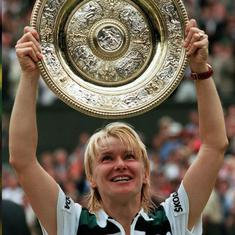 Disaster and triumph marked Jana Novotna's Wimbledon journey, and she was a fighter through it all