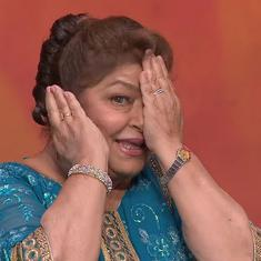 How Saroj Khan approached choreography: 'The words tell us what the story is'