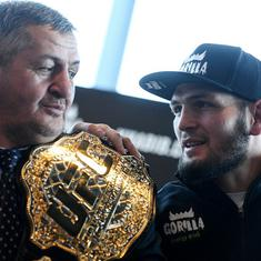 Coronavirus: Father of Russian MMA star Khabib Nurmagomedov dies at 57