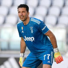 Serie A: Buffon sets new appearances record as Juventus move seven points clear with win over Torino