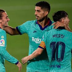 Watch: Messi, Griezmann, Suarez star as Barcelona beat Villarreal to keep La Liga title hopes alive