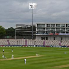 England vs West Indies: Weather plays spoilsport on cricket's much-awaited return in Southampton