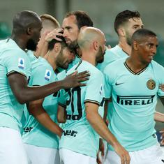 Serie A: Inter Milan miss chance to cut down Juventus' lead at top as Hellas Verona snatch point