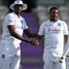 England vs WI, first Test: Watch – Holder and Co spark late collapse to set up thrilling final day
