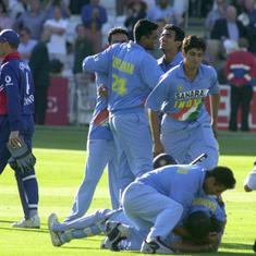 Data check: What makes Sourav Ganguly and Co's epic win in Natwest Series 2002 final so special