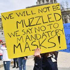 Americans' resistance to masks isn't new. Even during the 1918 pandemic, they found it 'autocratic'