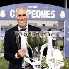 Real Madrid winning 'complicated' La Liga was the best day of my professional life: Zinedine Zidane