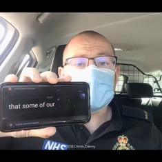 Watch: How do you communicate with those who lipread while wearing a mask? A UK paramedic answers