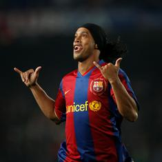 Pause, rewind, play: Ronaldinho – the magician who made people fall in love with Barca and football