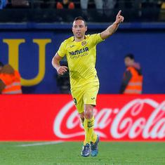 Football: Santi Cazorla joins former Spain teammate Xavi at Qatar's Al Sadd after leaving Villareal