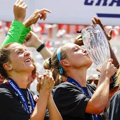 Houston wins women's Challenge Cup, the first US team sports event since coronavirus shutdown