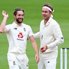 England vs WI, third Test, day 5: Watch - Broad, Woakes star in hosts' series-clinching win