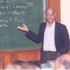 CS Seshadri (1932-2020): World-class algebraic geometer, institution-builder and music lover