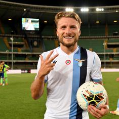 Not Messi, not Ronaldo, not Lewandowski: Lazio's Ciro Immobile is European football's top scorer