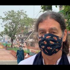 Watch: Chandni Chowk's walking-friendly makeover in Delhi has a new fan—the German ambassador